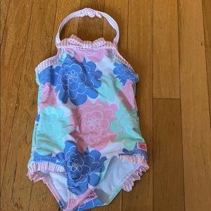Toddler girl bathing suit